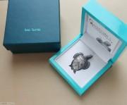 帕劳2017年海龟仿真银币