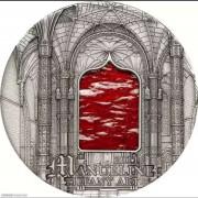 帕劳2011年蒂凡尼艺术仿古镶嵌银币
