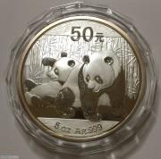 2010年熊猫银币5盎司