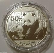 2012年熊猫银币5盎司