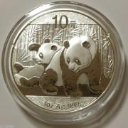 2010年熊猫银币1盎司