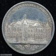 【德藏专卖】德国1864年不莱梅交易所景观泰勒