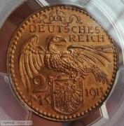【全能菜鸟】德国1913年卡尔哥茨巴伐利亚铜样币