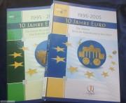 利比里亚2005年欧元发行国和预备发行国25枚彩色铌币镀金大全套25枚