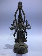 藏传 情景交融 铜佛