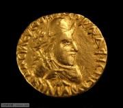 稀少品种贵霜金币国王维玛卡德费西斯