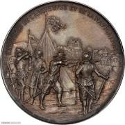PCGS-SP64 1895年瑞士日内瓦纪念银章