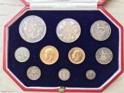 英國1911年精裝套幣共10枚