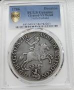 PCGS VF 荷兰1766年泽兰省 32.78克 大马剑早期老银币