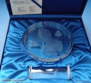 """刚果2005年""""教皇保罗二世""""特大型水晶纪念币"""