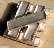 UNC 清代安南早期十两银锭 6枚