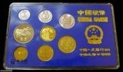 1986精制硬币流通(非卖品-精品展示)