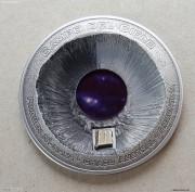 库克2016年坎普德尔切洛特大陨石镶嵌银币