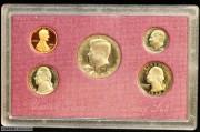 1988年美国造币厂精制流通币套装