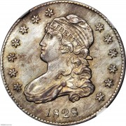 NGC-MS64 1828 Capped Bust Quarter
