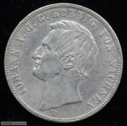 【德藏专卖】德国1866年萨克森双狮泰勒