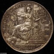 【德藏】荷兰1750年Harlem城市防卫银章