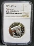 1994年甲戌(狗)年生肖纪念银币1盎司