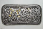 明代西藏鋄金铁扣