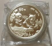 1995年熊猫银币5盎司