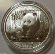 2012年熊猫银币1盎司