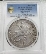 PCGS XF 荷兰1767年泽兰省 32.78克 大马剑早期老银币