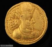 古波斯萨珊帝国沙普尔一世金币