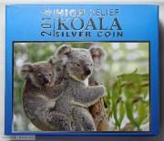 2014年澳大利亚1盎司加厚银币考拉
