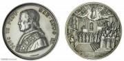 1856年梵蒂冈纪念银章