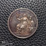 【德藏】德国1800年前后新世纪祝愿银章 名家Loos作品