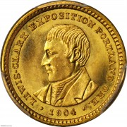 PCGS-MS67 1904 Lewis and Clark Exposition Gold Dollar