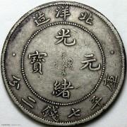 XF 北洋34年光绪七钱二分小字版
