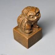 狮钮铜质印章 書卿