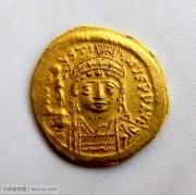 拜占庭皇帝查士丁二世索利多金币