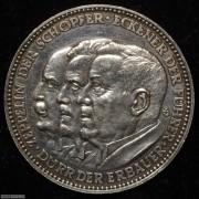 【德藏】德国1929年齐柏林飞艇环球飞行银章