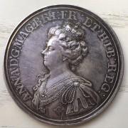 英國1709年馬爾普拉凱戰役紀念銀章