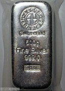 原始封装 瑞士500克999投资银条