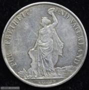【德藏专卖】瑞士1872年苏黎世射击节5法郎