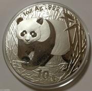 2002年熊猫银币1盎司