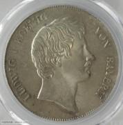【德藏专卖】德国1836年巴伐利亚皇冠泰勒 PCGS MS64