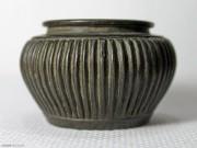 宋代瓜棱纹铜水盂