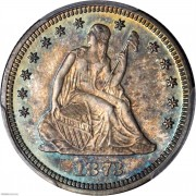 PCGS-PR66 1873 Liberty Seated Quarter
