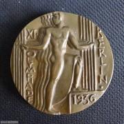 【德藏专卖】德国1936年纳粹柏林奥运会大铜章