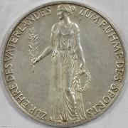 ★UNC 1936年德国柏林奥林匹克运动会银章 原盒