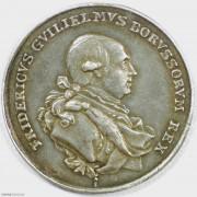 ★UNC 1786年德国普鲁士弗里德里希威廉二世登基银章