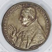 ★PCGS-SP63 1930年德国卡尔歌茨银章 纪念慕尼黑大主教福哈伯银章