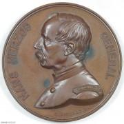 ★UNC 1871年瑞士汉斯赫尔佐格将军纪念大铜章
