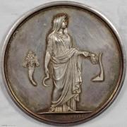 ★UNC 19世纪法国农业女神大银章
